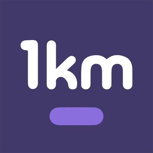 1km – Neighbors, Groups, New relationships Apk Pro Mod latest 5.5.1
