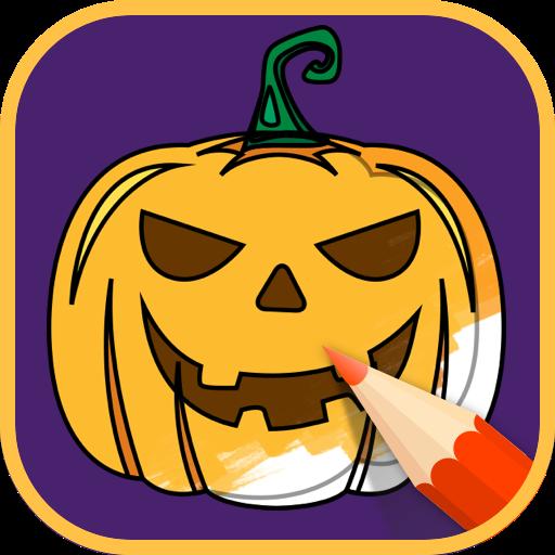 2021 Halloween Coloring Books Apk Mod latest 2.1.3