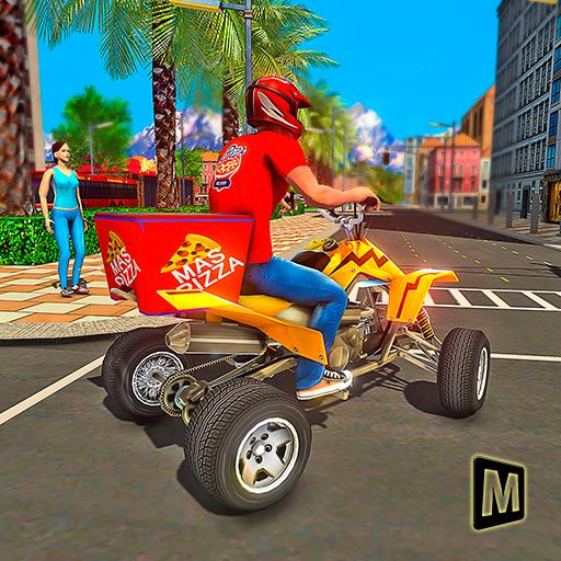 ATV Pizza Delivery Boy Apk Mod latest 1.1
