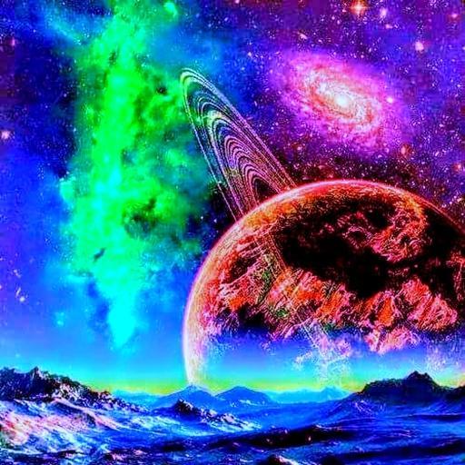 Alien Worlds Music Visualizer – UFO & UAP Chillout Apk Pro Mod latest 146