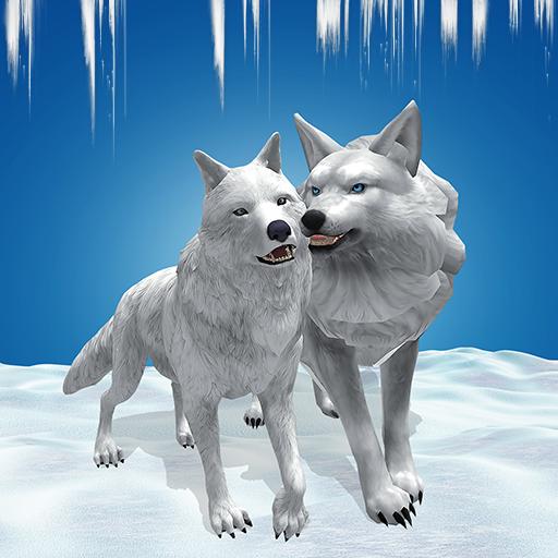 Arctic Wolf Family Simulator Wildlife Animal Game 2.3 Apk Mod (unlimited money) Download latest