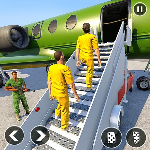 Army Prisoner Transport: Truck & Plane Crime Games Apk Mod latest 1.1.16
