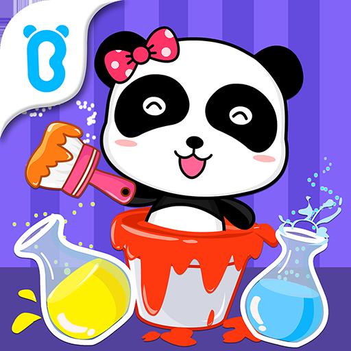 Baby Panda's Color Mixing Studio Apk Mod latest