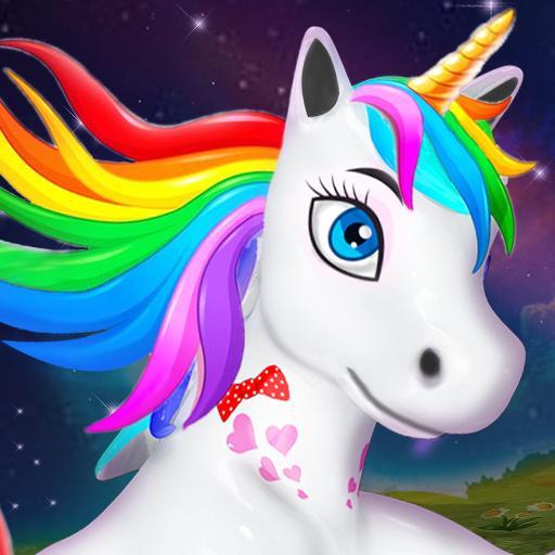 Unicorn Wild Life Fun: Pony Horse Simulator Games 1.6.0 Apk Mod (unlimited money) Download latest
