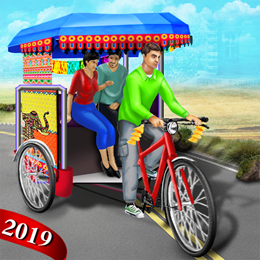 Bicycle Rickshaw Simulator 2019 : Taxi Game  Apk Pro Mod latest 3.3
