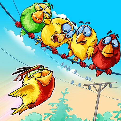 Birds On A Wire: Free Match 3  Apk Mod latest 2.0.27