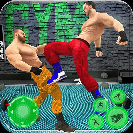 Bodybuilder Fighting Games: Gym Wrestling Club PRO Apk Mod latest 1.2.6