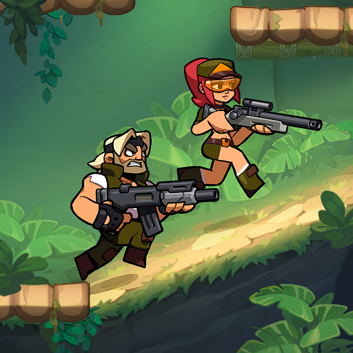 Bombastic Brothers Top Squad.2D Action shooter  1.5.52  Apk Pro Mod latest