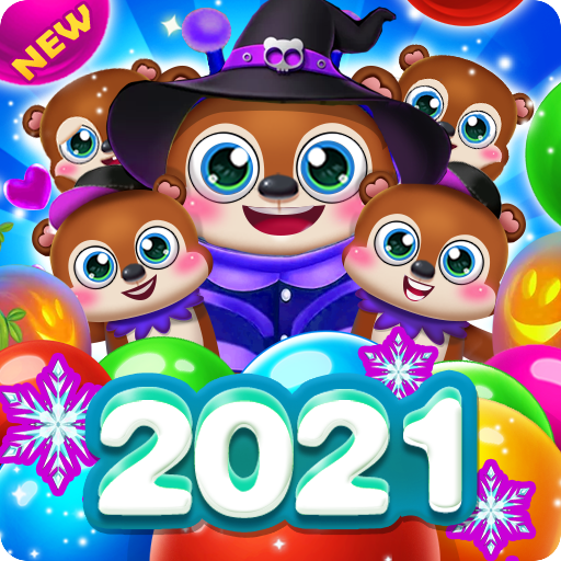 Bubble Shooter Brown Bear  Apk Mod latest 1.7.14