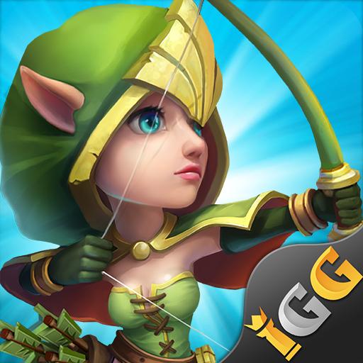 Castle Clash: King's Castle DE  1.7.9 Apk Mod (unlimited money) Download latest