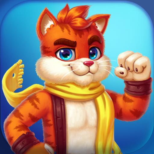 Cat Heroes Color Matching Puzzle Adventure Apk Pro Mod latest 53.20.1