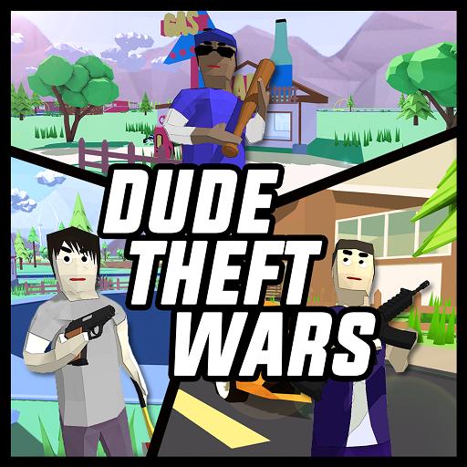 Dude Theft Wars: Open World Sandbox Simulator BETA Apk Mod latest 0.87c