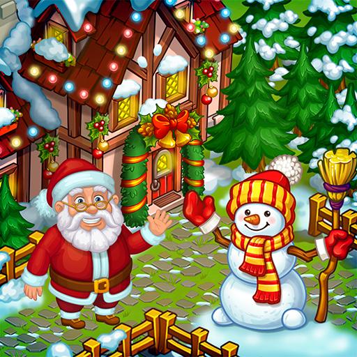 Farm Snow: Happy Christmas Story With Toys & Santa   Apk Pro Mod latest 2.23