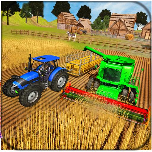 Farming Tractor Driver Simulator : Tractor Games  Apk Mod latest 1.7.3