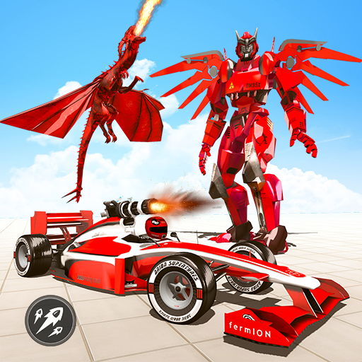 Formula Car Robot Transform – Flying Dragon Robot  Apk Mod latest 1.8