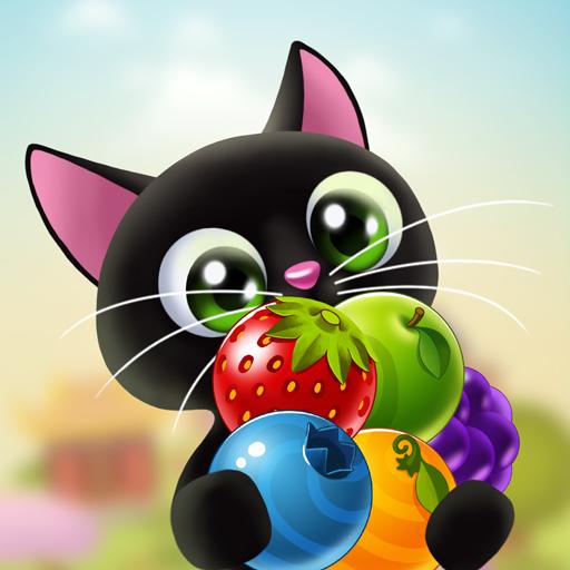 Fruity Cat – bubble shooter! Apk Mod latest 1.62.3