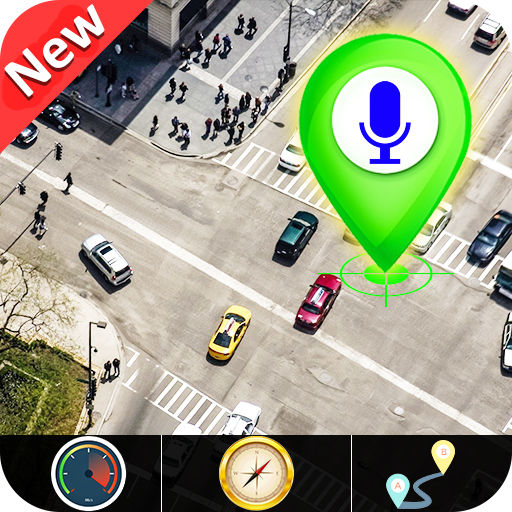 GPS Satellite – Live Earth Maps & Voice Navigation  Apk Pro Mod latest 2.6.1