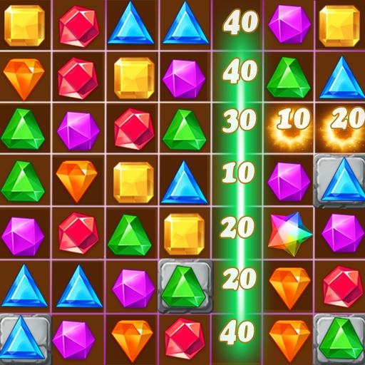Jewels Classic Jewel Crush Legend  4.0.1 Apk Mod (unlimited money) Download latest