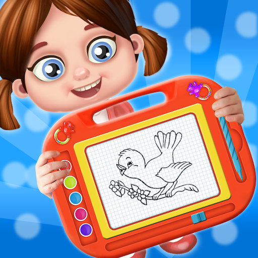Kids Magic Slate Simulator – Toddlers Drawing Pad Apk Mod latest 10.0