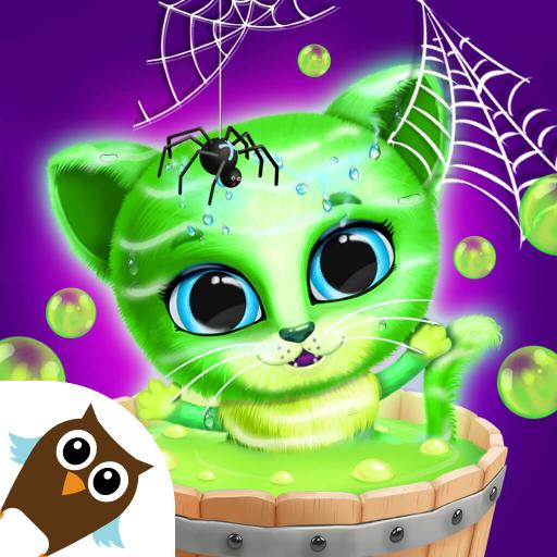 Kiki & Fifi Halloween Salon – Scary Pet Makeover Apk Mod latest 5.0.11505
