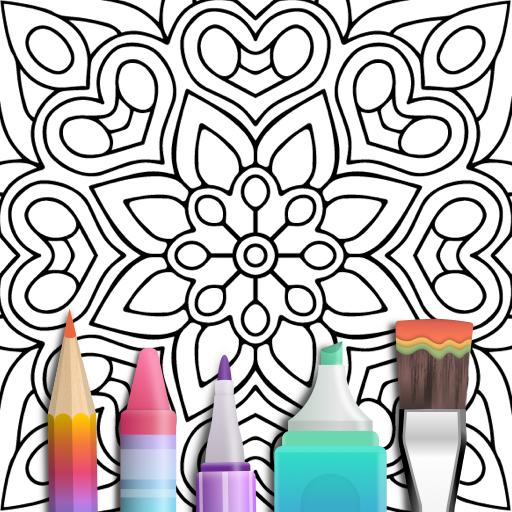 Mandala Coloring Book  Apk Mod latest 3.1.4