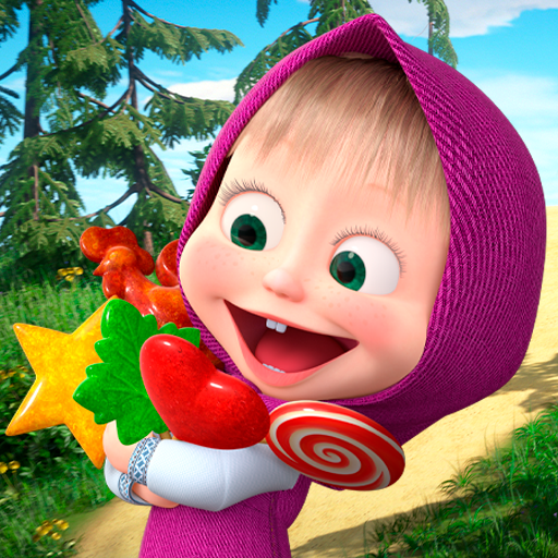 Masha and the Bear: Running Games for Kids 3D  Apk Mod latest 1.1