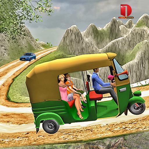 Mountain Auto Tuk Tuk Rickshaw : New Games 2020  Apk Pro Mod latest 2.0.20