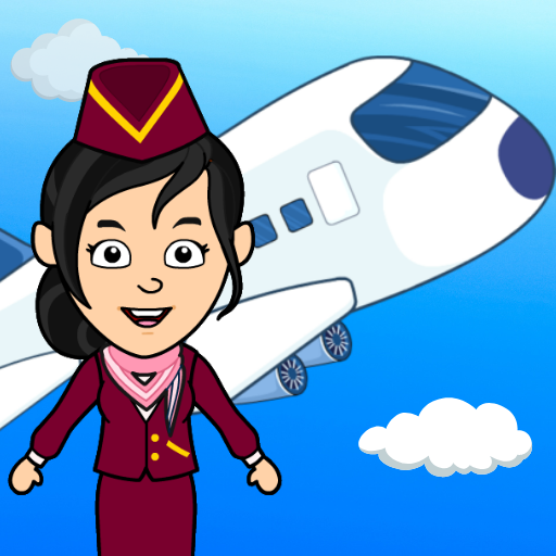 My Airport Town: Kids City Airplane Games for Free   Apk Pro Mod latest 1.6.1