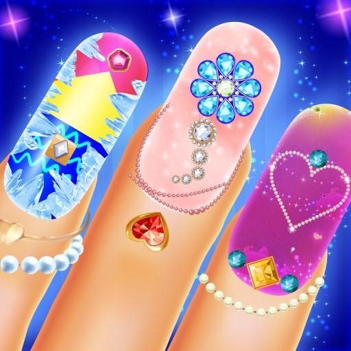 Nail Salon Fashion Game: Manicure pedicure Art Spa Apk Mod latest 1.5