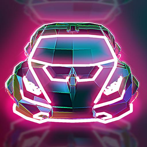 Neon Flytron Cyberpunk Racer Apk Pro Mod latest 1.9.3