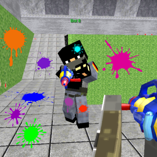 Paintball shooting war game: xtreme paintball fun Apk Mod latest 1.18