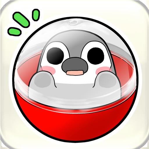 Pesoguin capsule toy game Apk Pro Mod latest 1.3