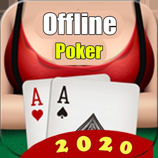 Poker Offline Free 2020 – Texas Holdem With Girl  Apk Mod latest 3.0