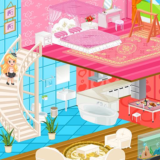 Princess New Doll House Design Apk Mod latest 1.1.7