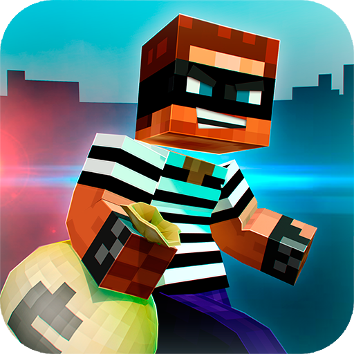 🚔 Robber Race Escape 🚔 Police Car Gangster Chase Apk Mod latest 3.9.4