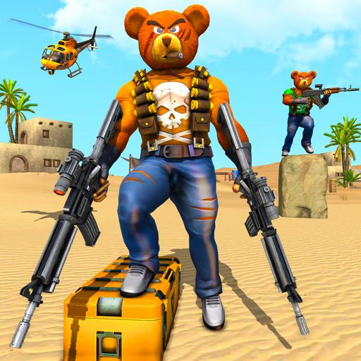Teddy Bear Gun Strike Game: Counter Shooting Games Apk Mod latest 3.2