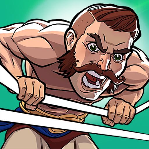 The Muscle Hustle: Slingshot Wrestling Game  Apk Mod latest 1.29.1301
