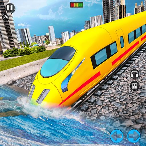 Underwater Bullet Train Simulator : Train Games 3.7.0 Apk Mod (unlimited money) Download latest