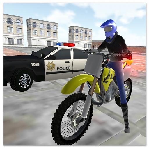 motocross racing star -ultimate police game  Apk Mod latest 1.22