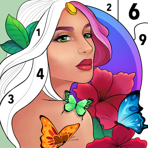 Adults Coloring Books: Color landscape picture Apk Pro Mod latest 1.54