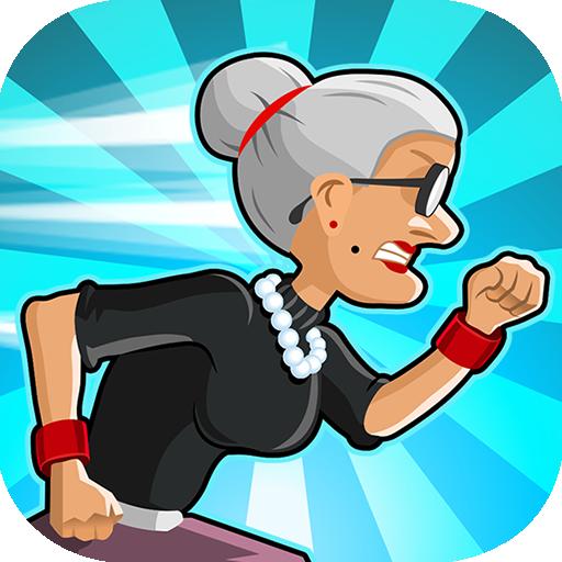 Angry Gran Run Running Game   Apk Pro Mod latest 2.16.0