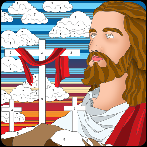 Bible Color By Number : Bible Coloring Book Free Apk Mod latest 20.2