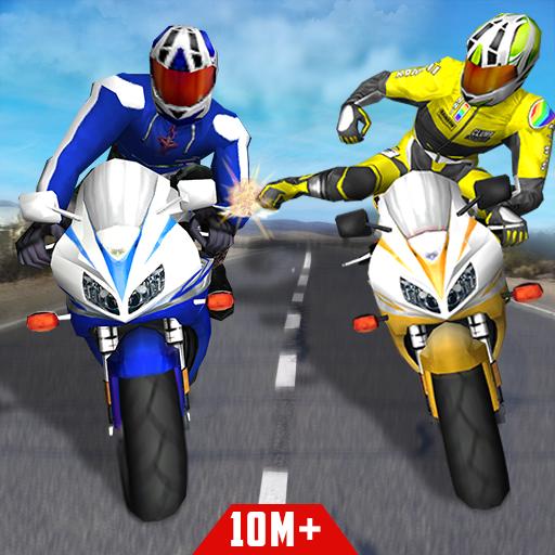 Bike Attack Race : Highway Tricky Stunt Rider  Apk Mod latest 5.1.06