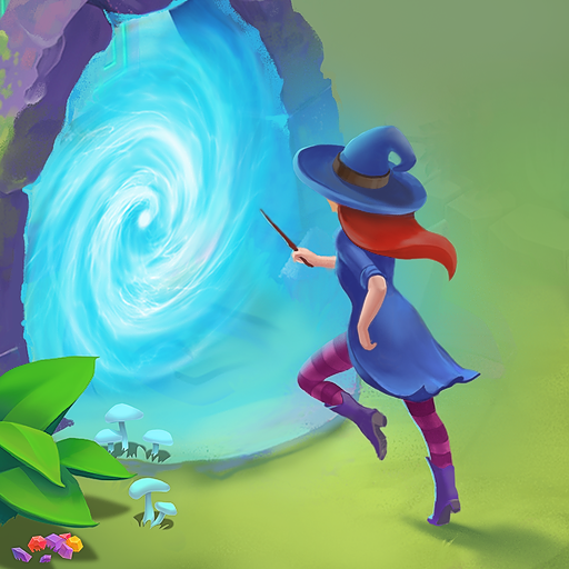 Charms of the Witch: Magic Mystery Match 3 Games  Apk Mod latest 2.27.4