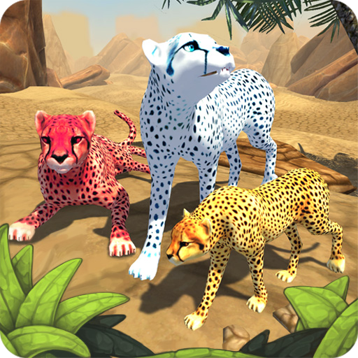 Cheetah Family Sim Animal Simulator  7.0 Apk Mod (unlimited money) Download latest