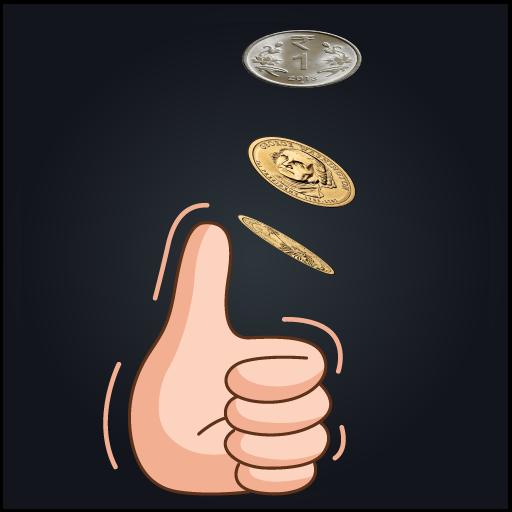 Coin Toss Simple Coin Flip Simulator Apk Pro Mod latest 1.0.5