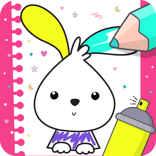 Coloring games for kids 🎨 Learn & painting games  Apk Pro Mod latest 1.1.5