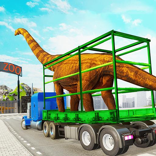 Dino Transport Truck Games: Dinosaur Game  Apk Pro Mod latest
