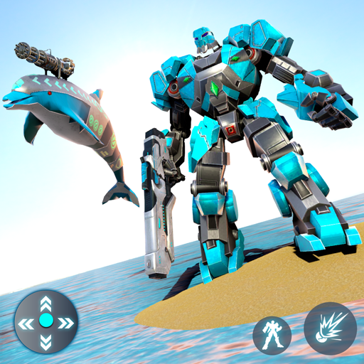 Dolphin Robot Transform: Robot War  Apk Pro Mod latest