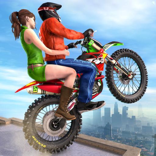 Extreme Rooftop Bike Rider Sim : Bike Games Apk Mod latest 2.3